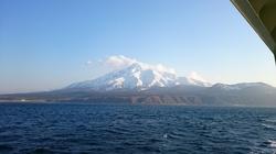 rishiri island へ上陸。