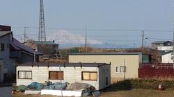 抜海から見える利尻富士