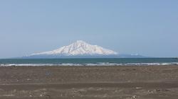 今朝の抜海から見える利尻富士です!