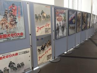 歴代犬ぞり稚内大会ポスター展