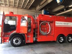 新しい消防車!