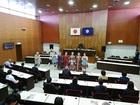 サハリンアンサンブル「ルースキー・テーレム」が議場コンサート開催