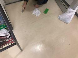 玄関掃除の巻。