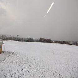 雪景色の稚内!!