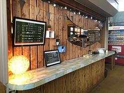 こまどりスキー場の食堂